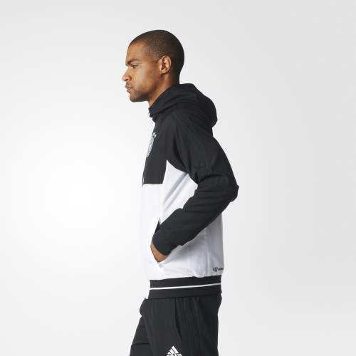 Adidas Veste de présentation Allemagne 2017 L noir