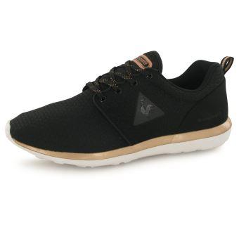 34388ee9b7a3e -23€ sur Le Coq Sportif Dynacomf Feminine noir, baskets mode femme -  Chaussures et chaussons de sport - Achat   prix   fnac