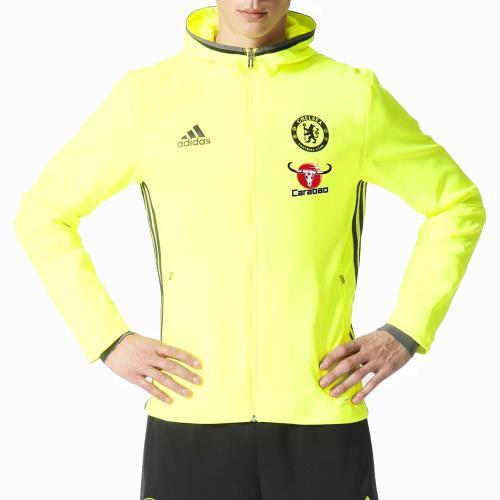 Adidas Chelsea FC 20162017 Jaune 3XL Veste à capuche de