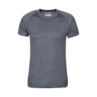 77d72e169ed6 Mountain Warehouse Sous pull Thermique Homme Laine Merino T-Shirt Respirant  Antibactérien Hiver Summit - Achat   prix   fnac