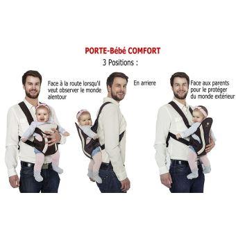 Sur Portebébé Ventral Et Dorsal Porte Bébé COMFORT Mois - Porte bébé ventral et dorsal