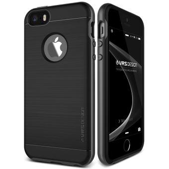 Coque Iphone Se 5S 5 Vrs Design High Pro Shield Steel Silver