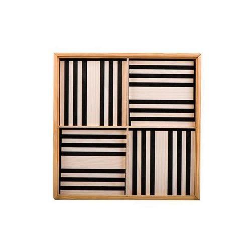 Kapla 100 planchettes - Noir et blanc Kapla