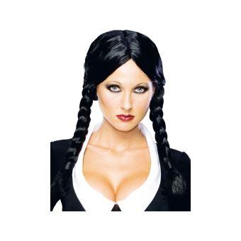 Deguisement Mercredi Addams perruque - mercredi addams™ - adulte - accessoire de déguisement