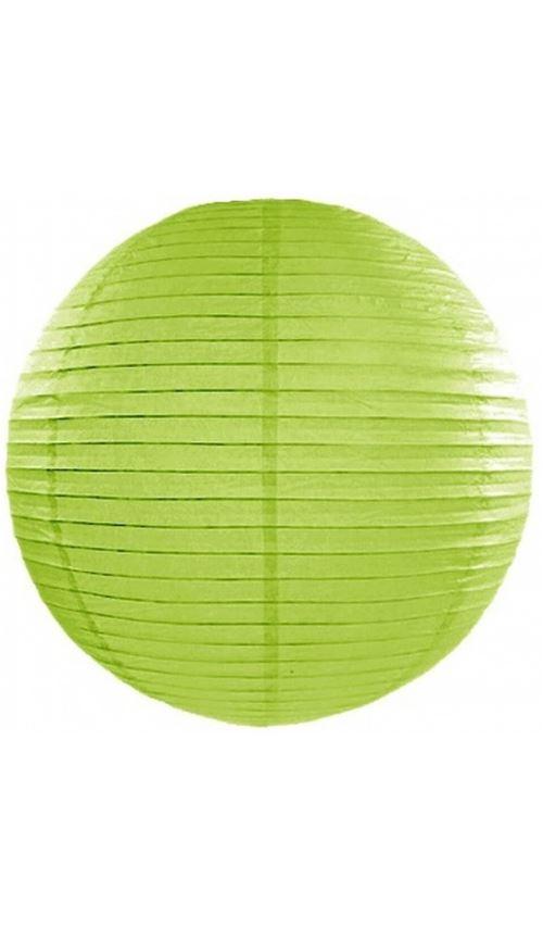 Lanterne Boule - Vert Pomme x 35 cm