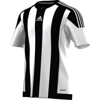 Adidas Maillot adidas Striped 15 L blancnoir