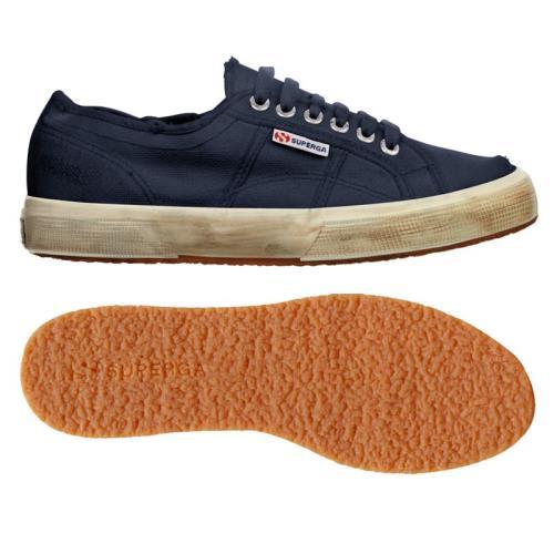 SUPERGA SUPERGA SUPERGA Chaussures 2750-COTUSTONEWASH pour homme et Adulte, style classique, couleur unie 0a5147