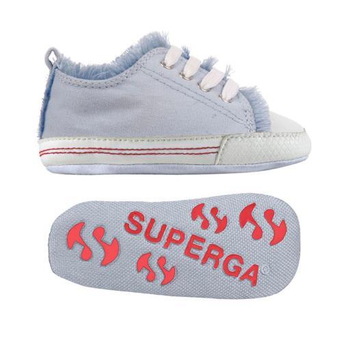Superga sneakers 4090 cotb pour bébé garçon et bébé fille style classique couleur unie