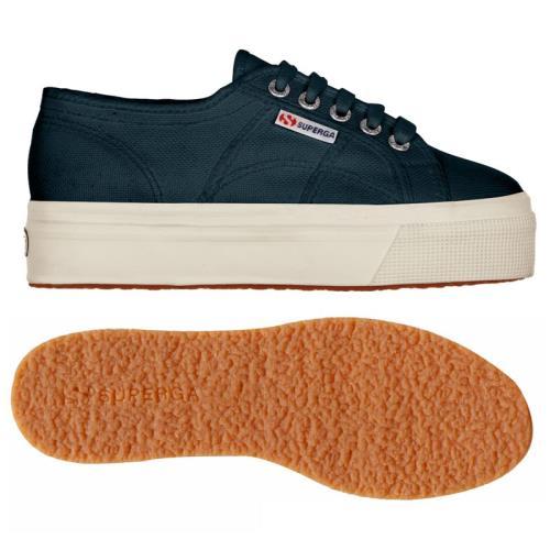SUPERGA Chaussures 2790ACOTW 2790ACOTW 2790ACOTW LINEA UP AND DOWN pour Adulte, chaussures modèle plateforme, couleur unie 6cbb8b