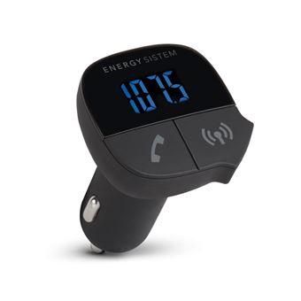 Energy Sistem CAR FM-T SERIES - mains-libre Bluetooth / transmetteur FM / chargeur