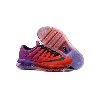 2016 Rouge Chaussures Et Running Nike Air Junior Max Basket Femme q4TBStx
