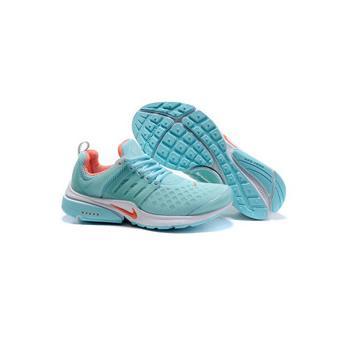 Nike Air Presto Basket Femme Chaussures bleu et orange
