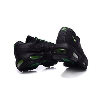 wide range good texture quality products Homme Nike Air max 95 Baskets Chaussures de Sports Noir ...