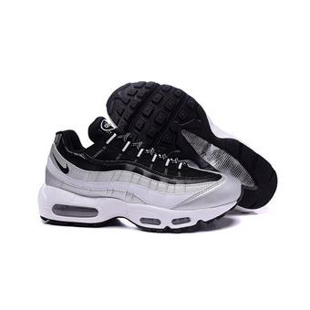 multiple colors quality design exclusive shoes Homme Nike Air max 95 Baskets Chaussures de Sports Gris ...