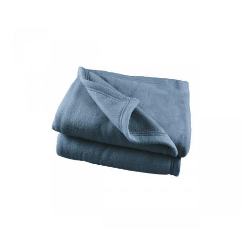 Couverture Polaire Bleue Polex 100% polyester 350g 180x220