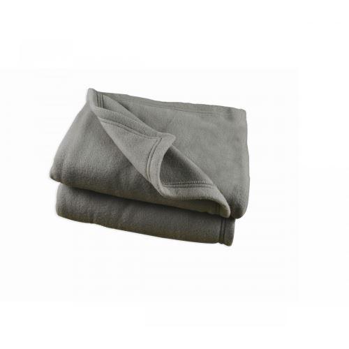 Couverture Polaire Grise Polex 100% polyester 350g 180x220