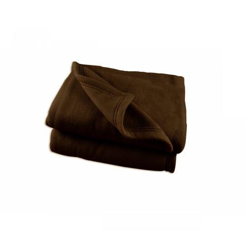 Couverture Polaire Marron Polex 100% polyester 350g 180x220