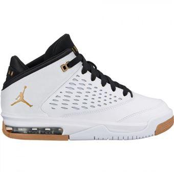 nouveau concept 111c9 4467c Chaussure de Basket Jordan Origin 4 (GS) blanc pour fille ...