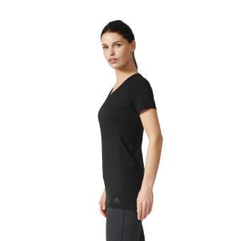 t shirt femme adidas noir