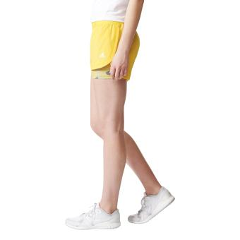 short jaune adidas femme