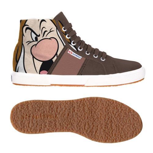 Superga <strong>chaussures</strong> cartoon 2095 dsn brontolo cobw pour adulte style classique imprimé à motifs
