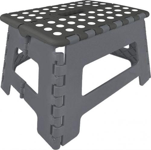 ProPlus marches pliables noir / gris 29 x 21,5 x 22 cm