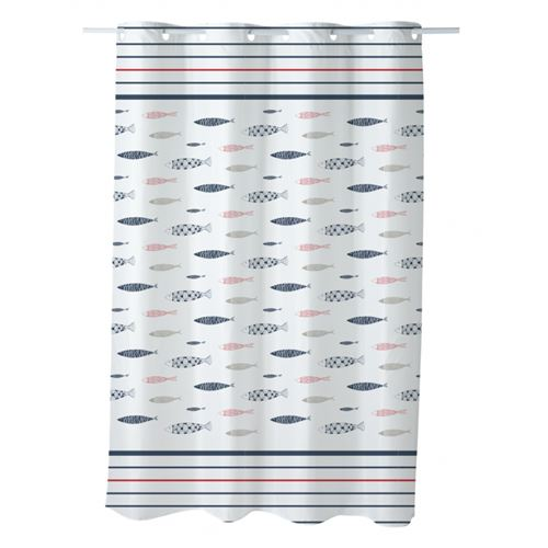 Rideau de douche imprimé 180x200cm Magellan