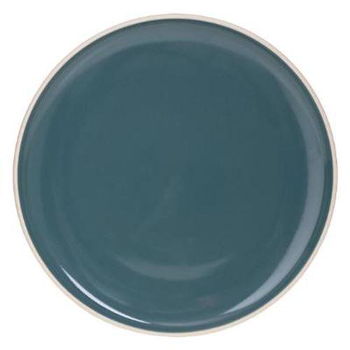 Lot de 6 Assiettes Plates Sofia 27cm Vert