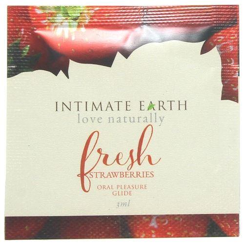 Intimate Organics Fraise Fraîche Feuille Lubrifiant 3 ml