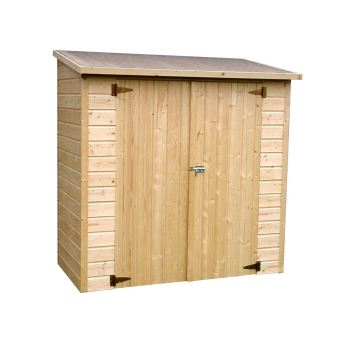 Armoire de jardin en bois 12 mm - 1,40 m² - Mobilier de ...
