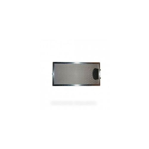 13mc076 filtre inox 290x145x9 poignee zamack pour hotte roblin - 13mc076