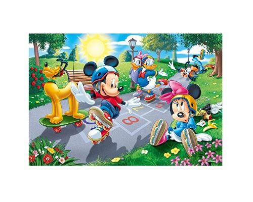 Puzzle 100 Pièces : Mickey Mouse & Friends, Trefl