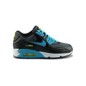 Nike Air Max 90 Mesh Junior grise et bleue