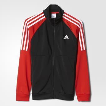 96d20de67d15 Adidas Survêtement Tibero noir rouge intense blanc Taille 11 12 ans Enfant  Garçon - Survêtements et ensembles de sport - Achat   prix