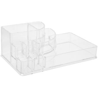 Boite Organisateur Pour Cosmetique 8 Compartiments Acrylique Ideal