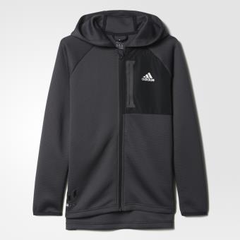 Adidas Veste à capuche Messi noir matblanc Taille 45 ans