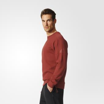 Adidas Sweat shirt Crew Z.N.E. bordeaux Taille L Adulte