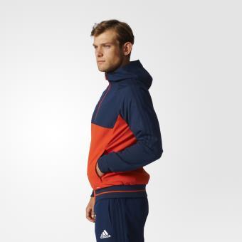 Adidas Veste de présentation Tiro 17 bleu marineorange briqueblanc Taille M Adulte Homme