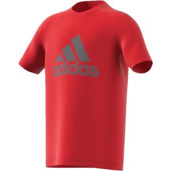 Shirt Ans T Taille 910 Intensegrisnoir Prime Logo Adidas Enfant Garçon Rouge 8Owk0PXn