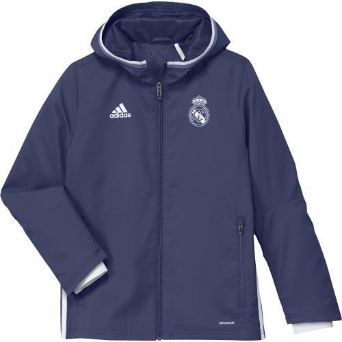 Adidas Veste de présentation Real Madrid 20162017 bleu