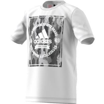 dfbf06272c693 Adidas T-shirt Camouflage blanc Taille 7 8 ans Enfant Garçon - Hauts ...