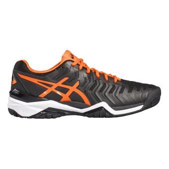 Asics Chaussures Asics Gel resolution 7 48 noirorange