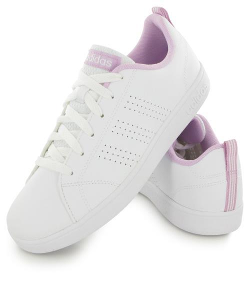ADIDAS Advantage Clean Jr Blanc 38.5 Enfant Chaussures et
