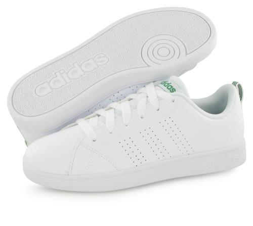 Chaussures mode ville Adidas Advantage blanc jr Blanc taille : 36.5 réf : 33016