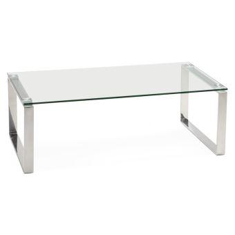 Table Basse Design En Verre.Table Basse Design De Salon Nebraska En Verre