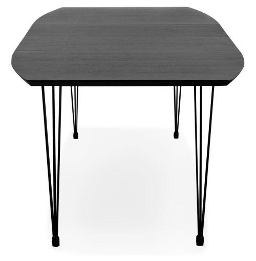 170 Extensible Dîner De Réunion 270 'motus' À Noire Table x100 QoBerCxdW