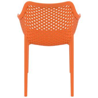 Plastique 'sister' Terrasse En Chaise Matière Jardin Orange De fg7vYb6y