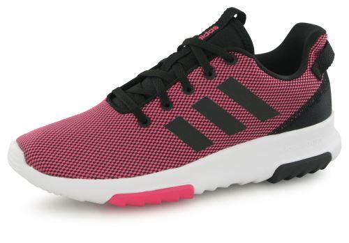 Adidas Neo Cloudfoam Racer Tr rose, baskets mode enfant