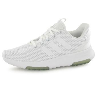 Adidas Neo Cloudfoam Racer Tr blanc, baskets mode femme ...