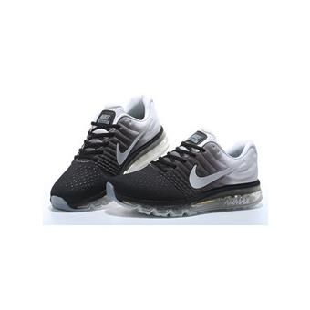 baskets nike air max 2017 homme chaussures de running homme blanc et noir taille 44 achat. Black Bedroom Furniture Sets. Home Design Ideas